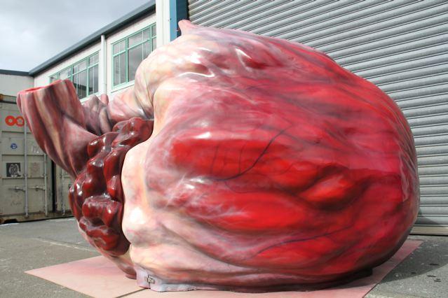 Blue whale heart | Tapani Heikkinen