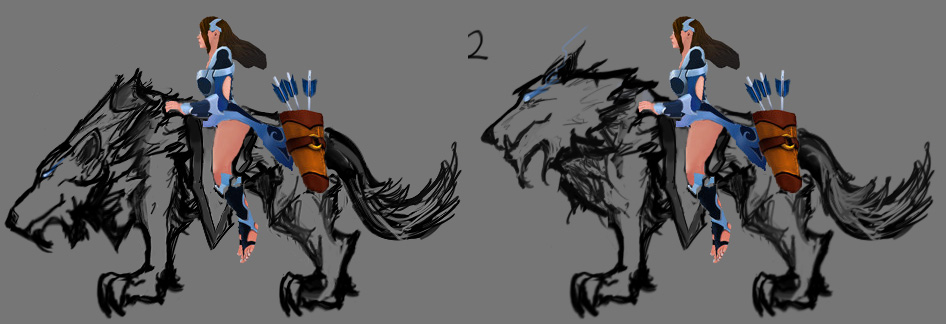 wolf_Sketches